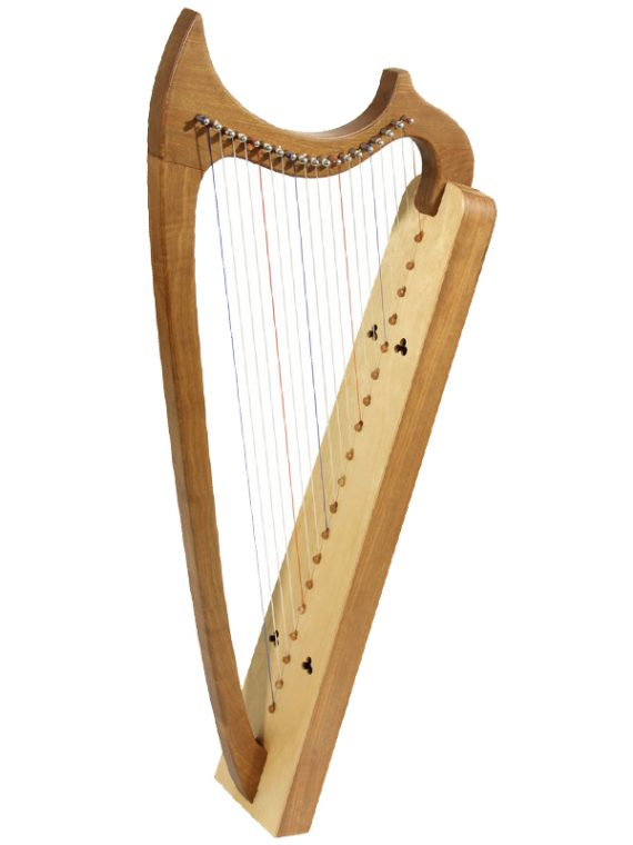 19-String Gothic Harp – Walnut1