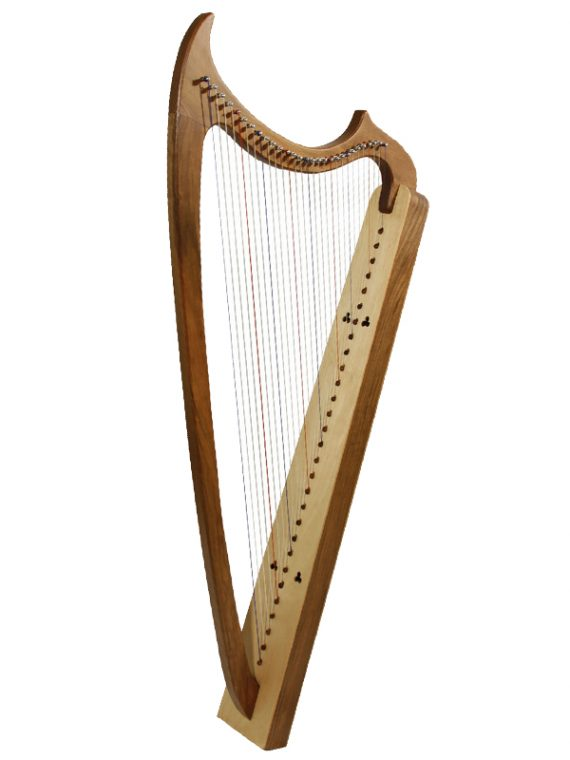 29-String Gothic Harp – Walnut1
