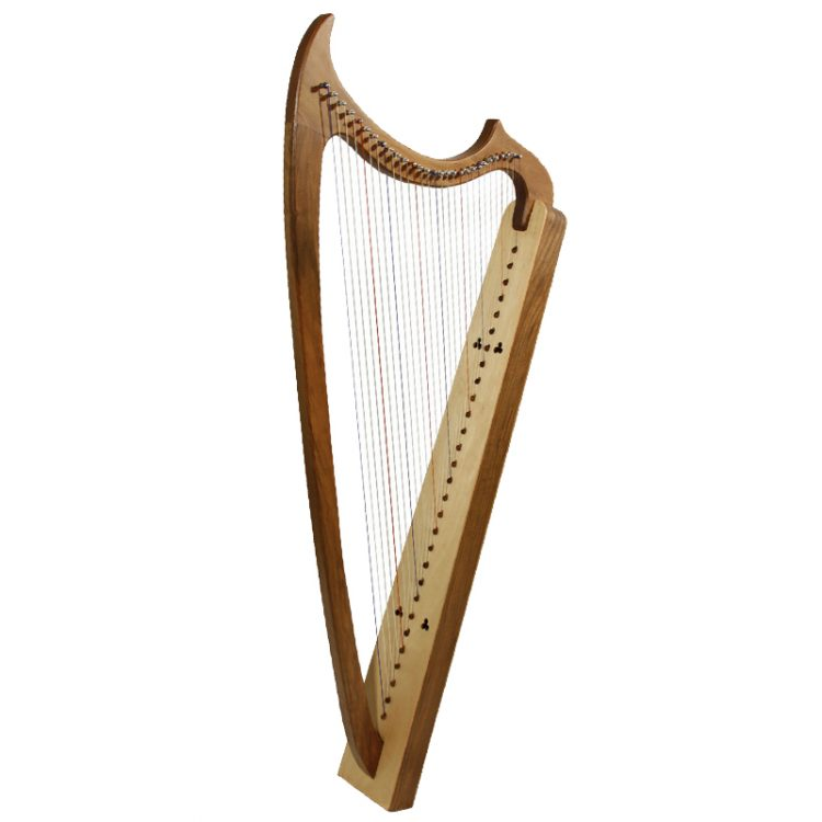29-String Gothic Harp - Walnut1