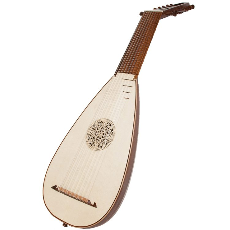8 Course Travel lute rosewood