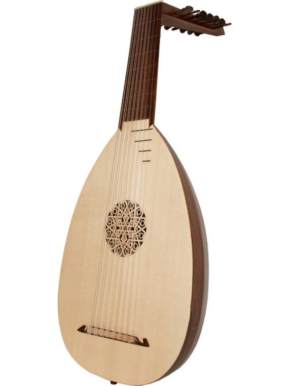 8 Course lute rosewood