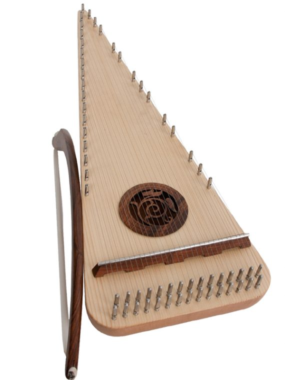 Alto Rounded Psaltery Left-Handed11