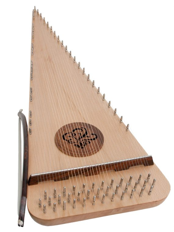 Baritone Rounded Psaltery Right-Handed11