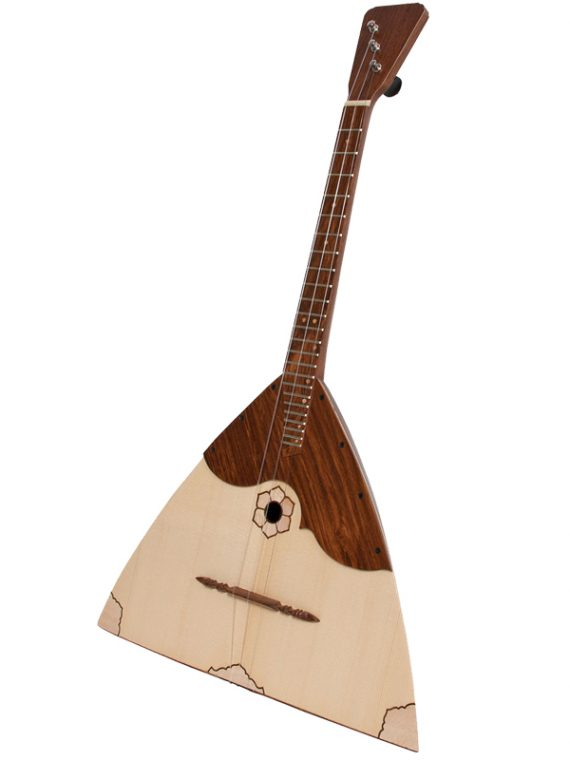 Deluxe Prima Balalaika Rosewood Stave Body1