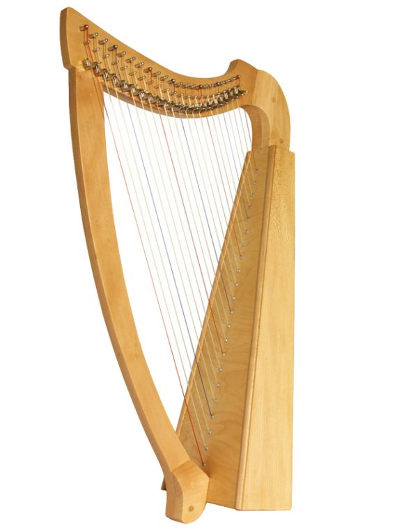 Heather Harp 22-String – Lacewood