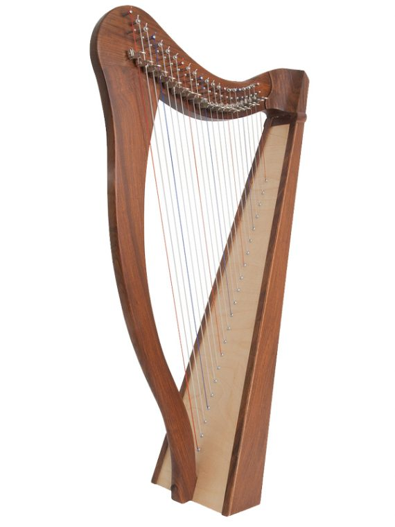 Heather Harp 22-String, Rosewood 5-Panel