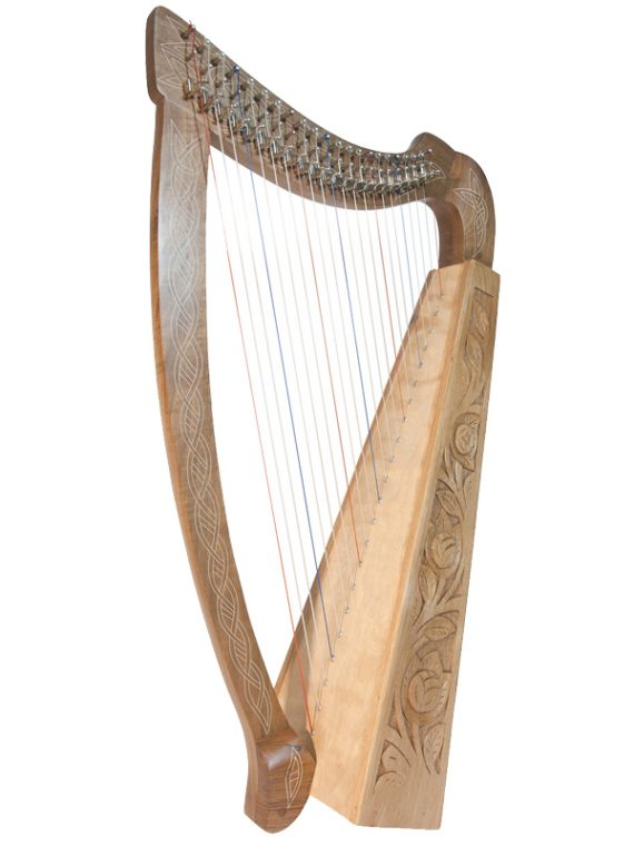 Heather Harp 22-String Walnu1t