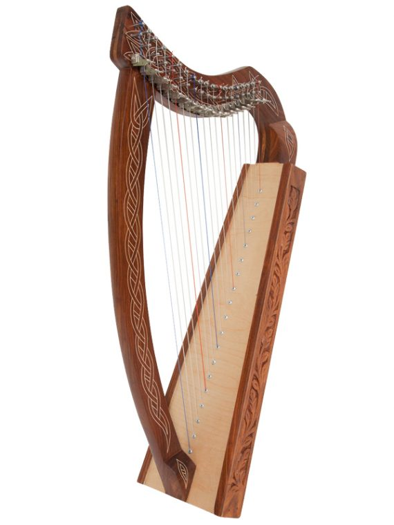 Pixie Harp 19-String Non-Standing-Rosewood