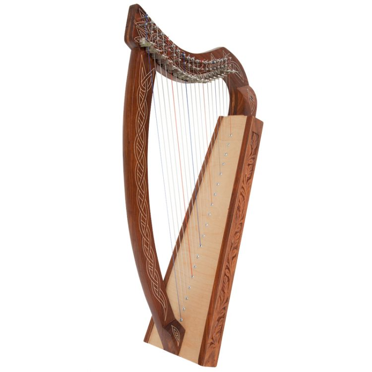 "Pixie Harp 19-String Non-Standing model . Approximately 31"" high. Non-standing design for children. Featuring 19 DuPont hard nylon strings,"