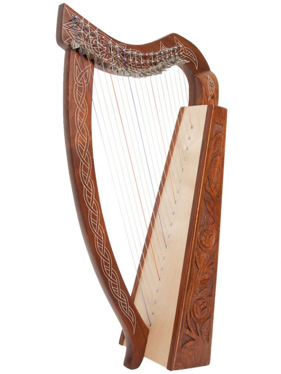 Pixie Harp 19-String-Rosewood copy