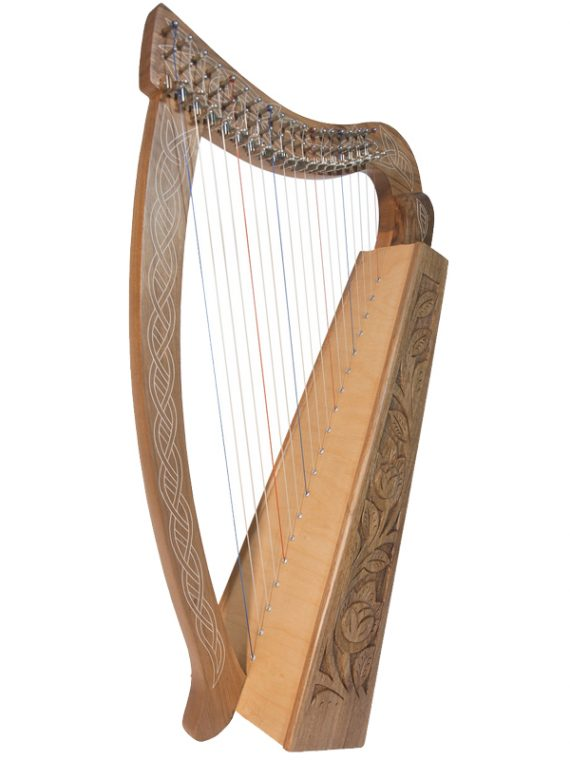 Pixie Harp 19-String – Walnut