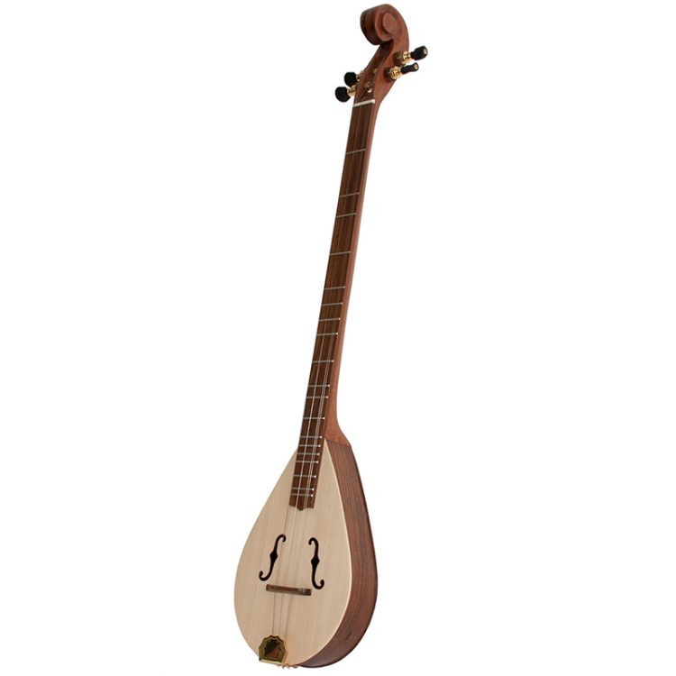 DELUXE WILDWOOD DULCIMER Rosewood F-HOLES SCROLLED PEGBOX