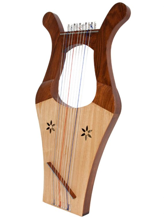 KINNOR HARP-LIGHT-ROSEWOOD
