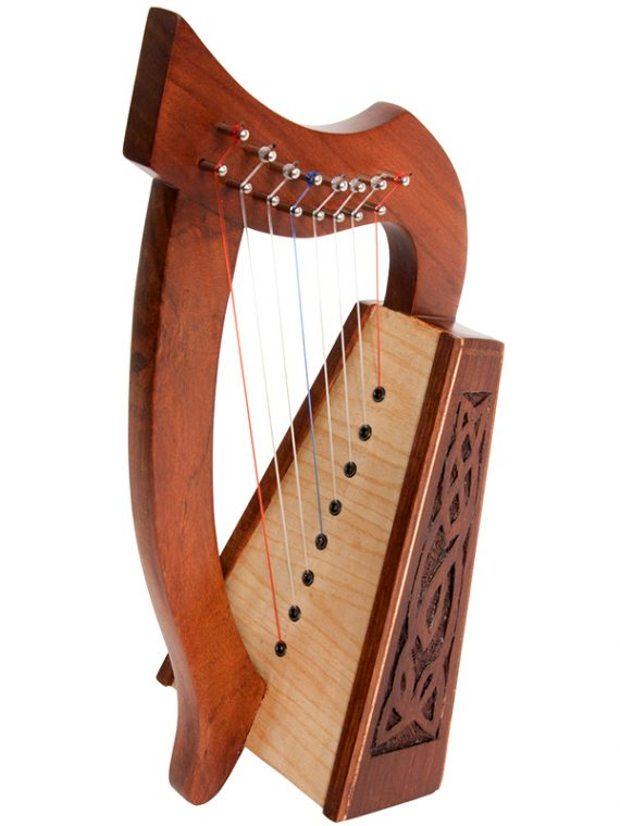 LILY HARP 8-STRING KNOTWORK ROSEWOOD