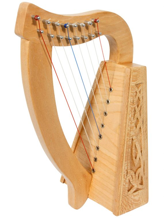 LILY HARP 8-STRING, LACEWOOD