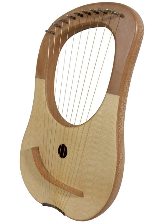 LYRE HARP 10-STRING, LACEWOOD