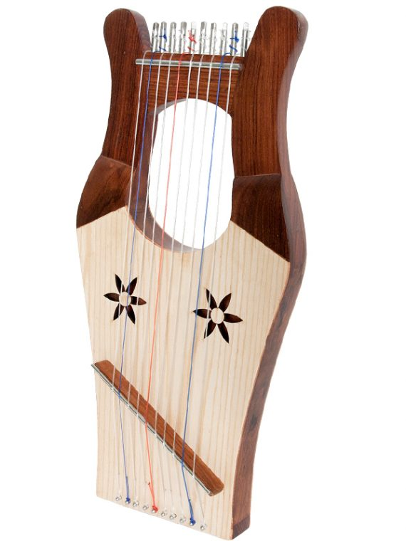 MINI KINNOR HARP – LIGHT Rosewood