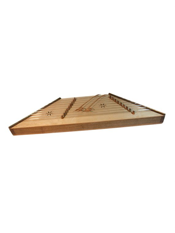 PERSIAN HAMMERED DULCIMER SANTOOR WITH HAMMERS – WALNUT