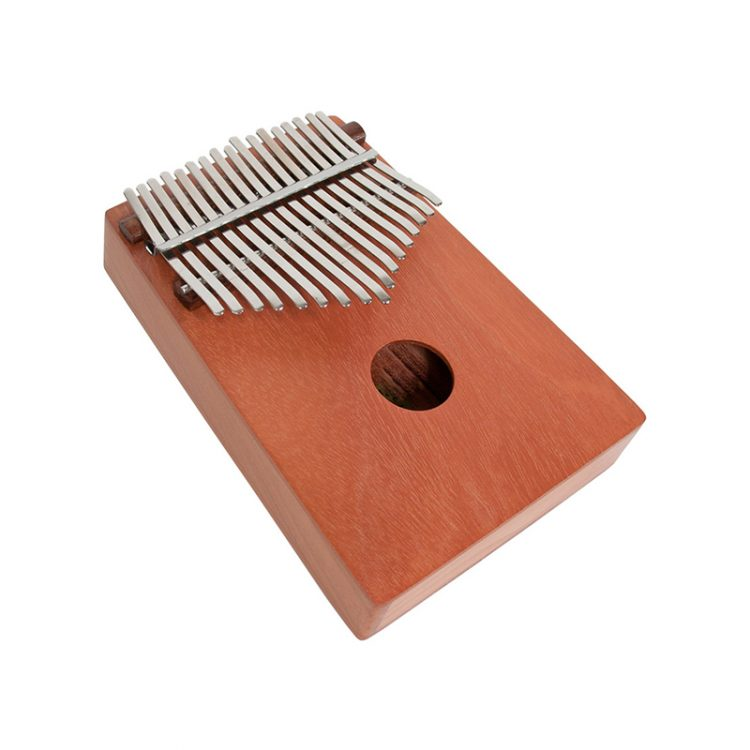 The red cedar thumb piano originates in Africa. It is also known as the mbira, kalimba or likembe.