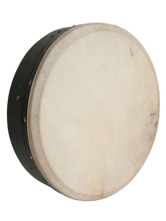 INSIDE TUNABLE MULBERRY BODHRAN SINGLE-BAR 14-BY-3.5-INCH – BLACK