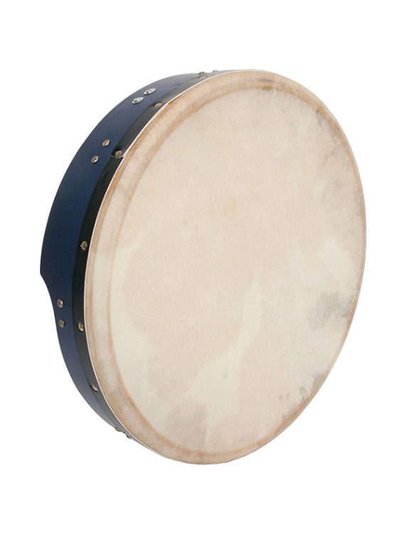 INSIDE TUNABLE MULBERRY BODHRAN T-BAR 16-BY-3.5-INCH – BLUE