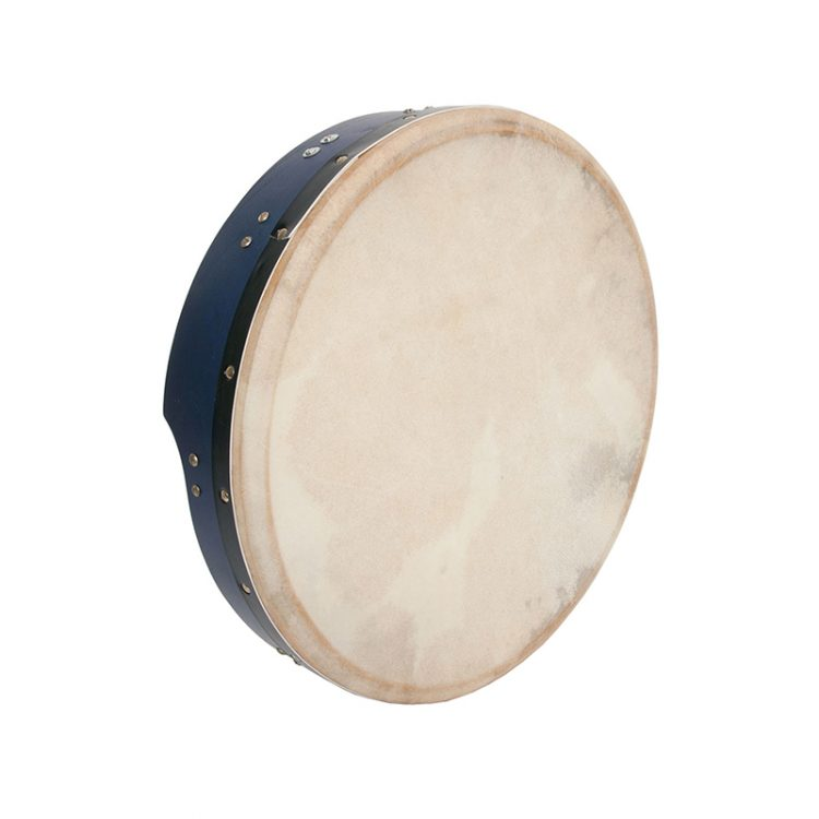 INSIDE TUNABLE MULBERRY BODHRAN T-BAR 16-BY-3.5-INCH - BLUE