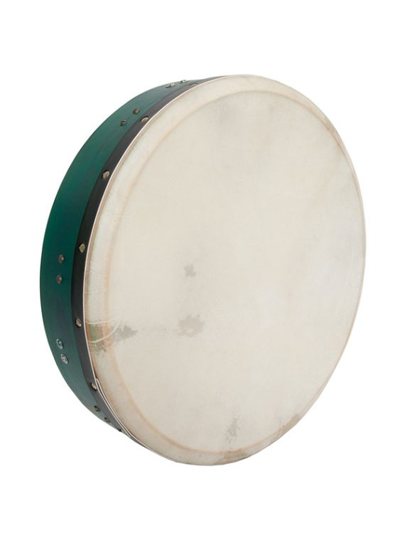 INSIDE TUNABLE MULBERRY BODHRAN T-BAR 16-BY-3.5-INCH – GREEN