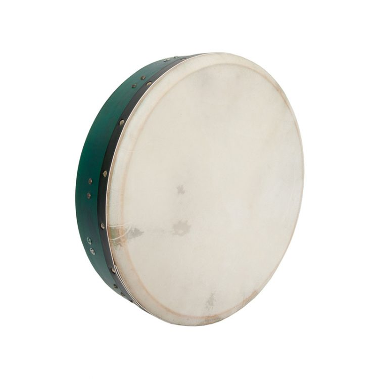 INSIDE TUNABLE MULBERRY BODHRAN T-BAR 16-BY-3.5-INCH - GREEN