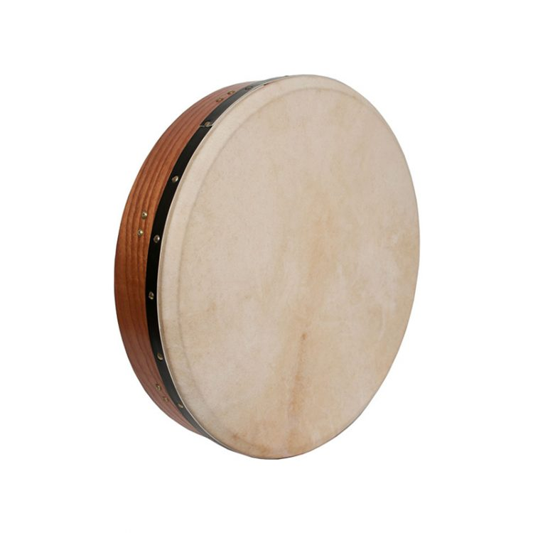 INSIDE TUNABLE RED CEDAR BODHRAN CROSS-BAR DOUBLE-LAYER NATURAL HEAD 18-BY-3.5-INCH