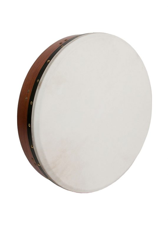 INSIDE TUNABLE RED CEDAR BODHRAN CROSS-BAR SOFT NATURAL HEAD 18-BY-3.5-INCH