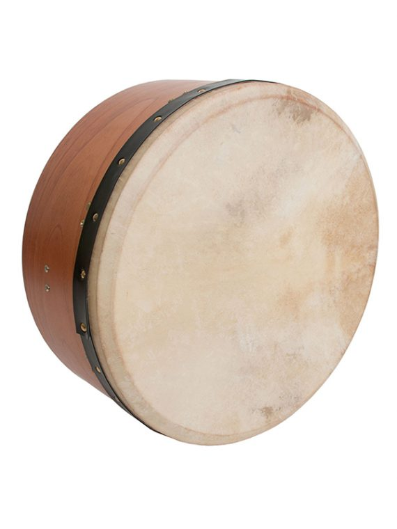 INSIDE TUNABLE RED CEDAR BODHRAN SINGLE-BAR 16-BY-7-INCH