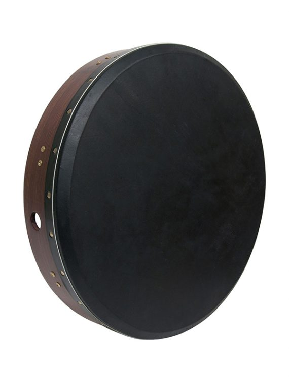 INSIDE TUNABLE ROSEWOOD BODHRAN CROSS-BAR 18 X 3.5-BLACK GOAT SKIN