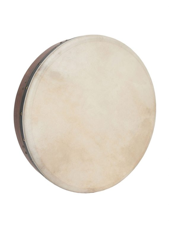INSIDE TUNABLE ROSEWOOD BODHRAN CROSS-BAR DOUBLE-LAYER NATURAL HEAD 18-BY-3.5-INCH