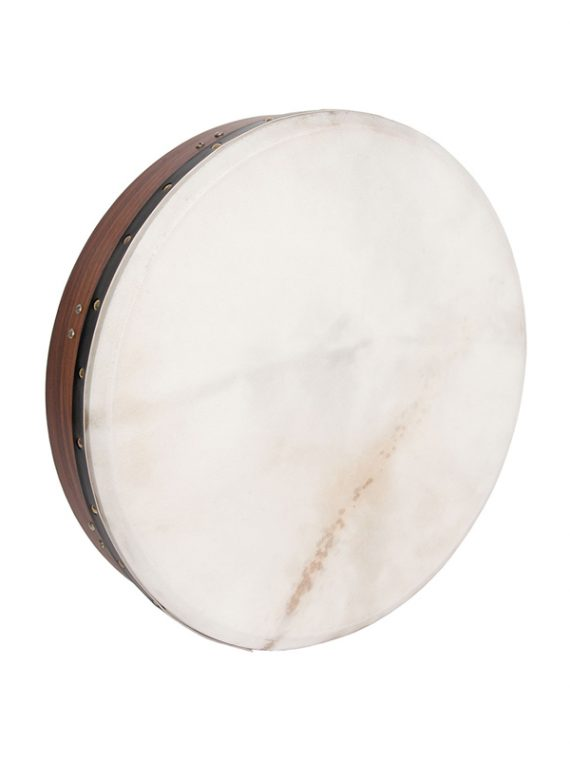 INSIDE TUNABLE ROSEWOOD BODHRAN CROSS-BAR SOFT NATURAL HEAD 18-BY-3.5-INCH