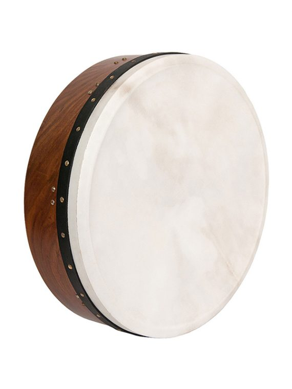 INSIDE TUNABLE ROSEWOOD BODHRAN SINGLE-BAR 18-BY-5-INCH