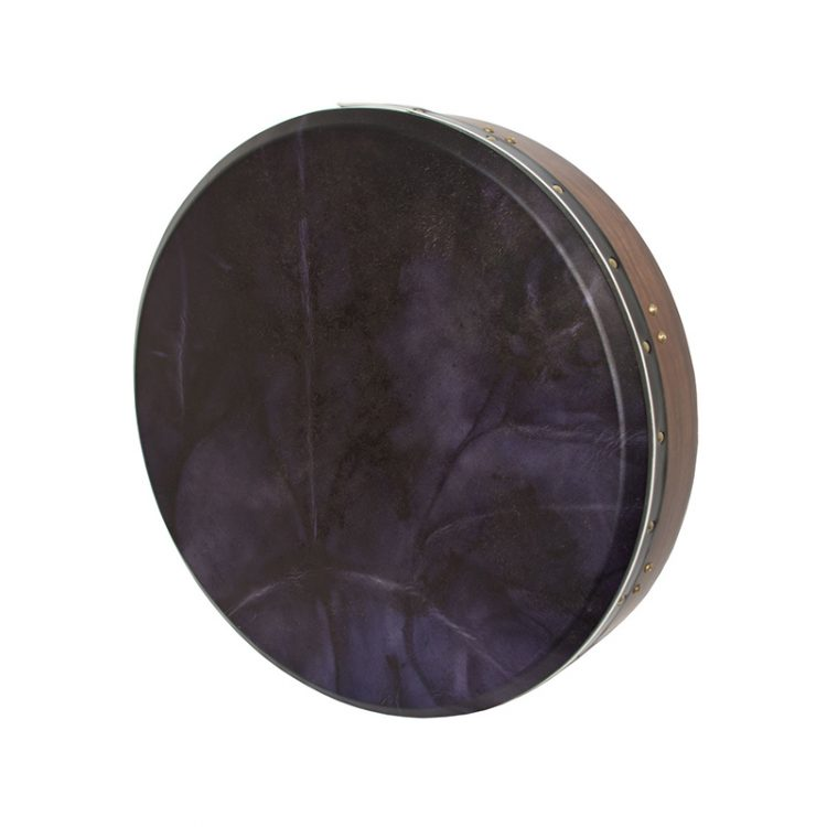 TUNABLE SHEESHAM BODHRAN CROSS-BAR 18-BY-3.5-INCH, EGGPLANT GOAT SKIN