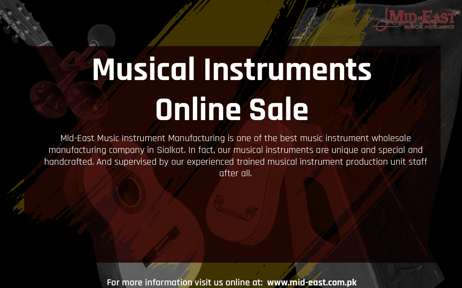 Musical Instruments Online Sale