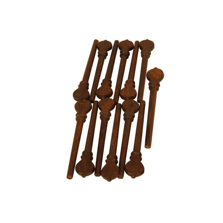 DESCANT LUTE ROSEWOOD PEGS 13-PACK