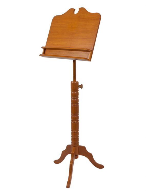 DOUBLE SHELF BOSTON MUSIC STAND – RED CEDAR