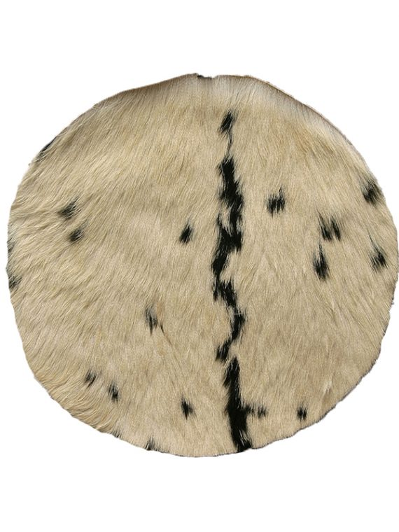 GOATSKIN WITH HAIR 18-INCH – MEDIUM