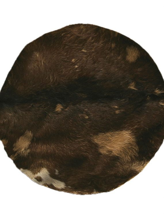 GOATSKIN WITH HAIR 36-INCH – MEDIUM