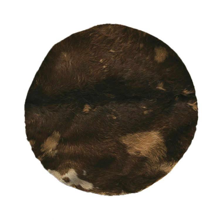 GOATSKIN WITH HAIR 36-INCH - MEDIUM