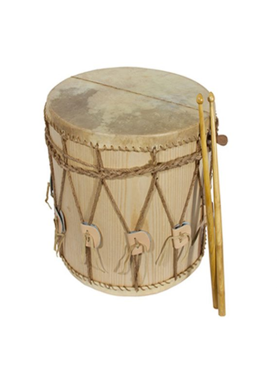 MEDIEVAL DRUM 13-BY-13-INCH