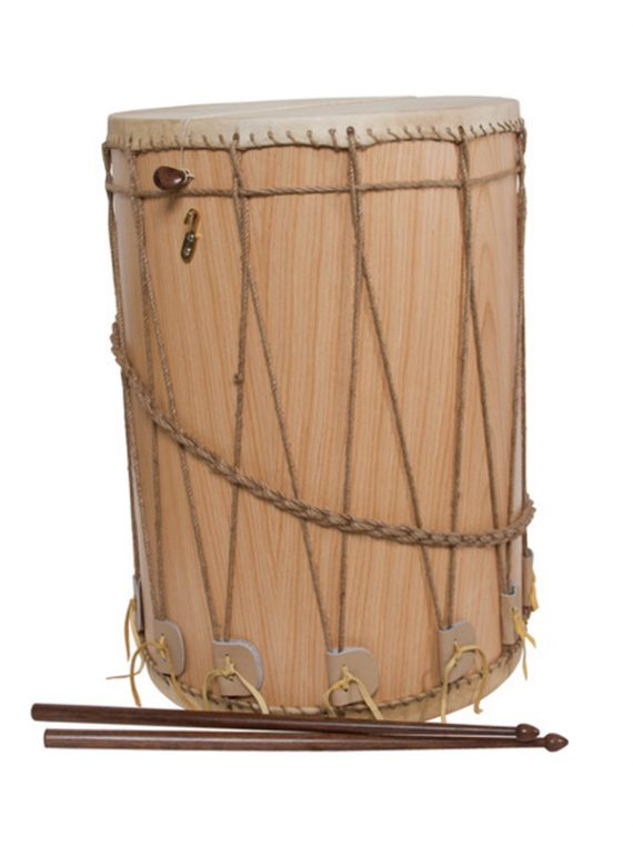 MEDIEVAL DRUM 13-BY-19-INCH