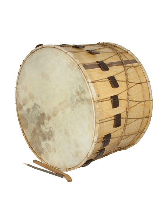 MID-EAST ROPE TUNED TUPAN DRUM 26-INCH