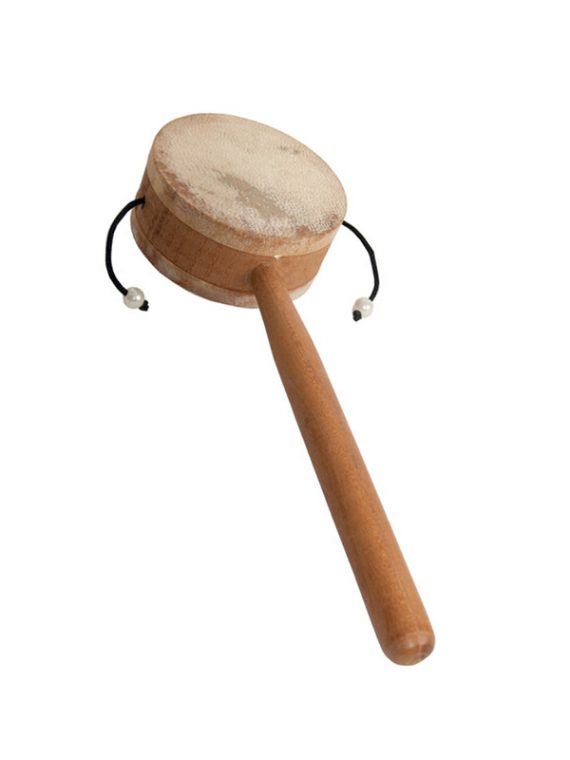 MONKEY DRUM WITH HANDLE 3.25-INCH
