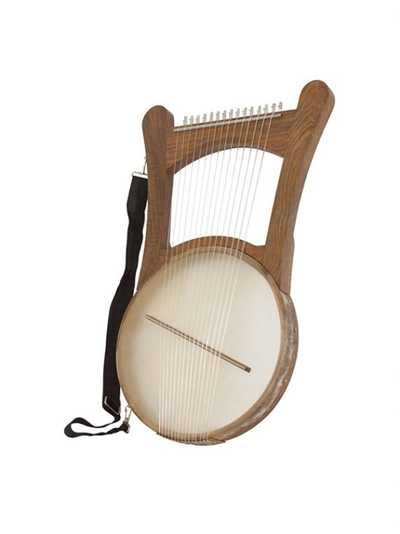 NEVEL HARP W GIG BAG – WALNUT