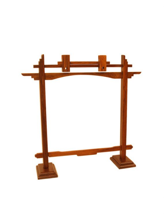 PEDESTAL ROSEWOOD GONG STAND 10-INCH