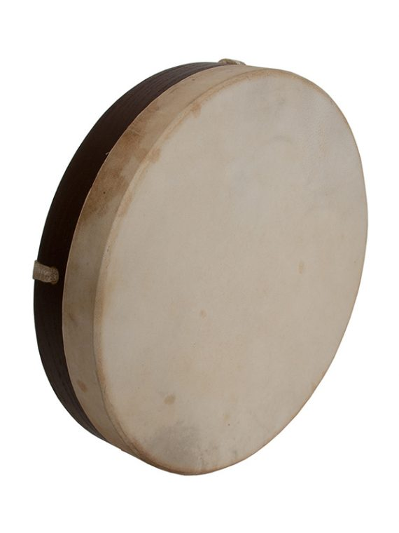 PRETUNED GOATSKIN HEAD WOOD FRAME DRUM 10-BY-2-INCH