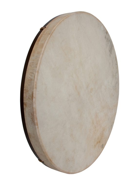 PRETUNED GOATSKIN HEAD WOOD FRAME DRUM 22-BY-2-INCH